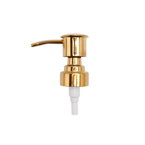 Brass soap dispenser pump